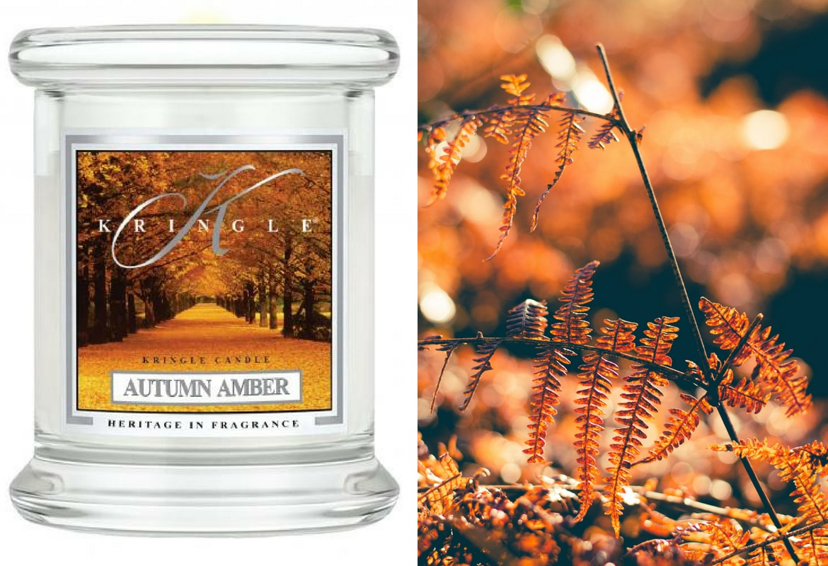 Autumn Amber Kringle Candle świeca zapachowa daylight